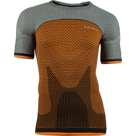 UYN Running Alpha OW Maglia a maniche corte Uomo, dragon fire/sleet grey